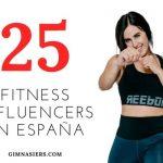 Top 25 fitness influencers en España